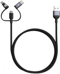 PeAk II Trio 120B Grey lightening cable